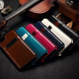 Wholesale Galaxy Retro Cases - For iphone 6 6S Plus Huawei P8 Luxury Retro leather TPU Back Case Cover with Credit Card slots for Galaxy s6 s7