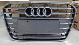 Wholesale Audi A6 Abs - front grille mesh OEM quality ABS FOR Audi A6 S6 C7 2013 2014 front grille mesh