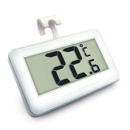 Termómetro para nevera online-Nevera Mini Termómetro de Alta Precisión con Imán Multi Función Hogar Supermercado Congelador de Alarmas de Congelación Venta Caliente 12 5hj J R