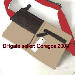 Wholesale Bum Bags - black beige canvas belt bag 28566R sales italy brand designer mens ladies waist pack bum bag Hips Fanny 145851 black small Cross Body Bag