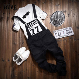 Wholesale Denim Overall Men - Wholesale-2016 NEW Men Jumpsuit Casual Straight Cotton Pocket Overalls Trousers Mens Bib Pants Asia Tag Size M-2XL
