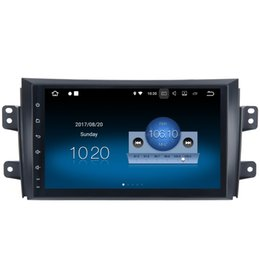 "Wholesale Option Mirror - 9"" 2G RAM Quad Core Android 7.1 Car DVD Head Unit For Suzuki SX4 Radio RDS GPS Navi SWC RDS BT WIFI 4G Mirror Screen HDMI Output DAB Option"