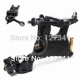 Wholesale Spares Machine Tattoo - Wholesale- Pro Quality Swashdrive Rotary Tattoo Machine Black with Free Spare Parts Free Shipping