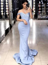 Wholesale Girls Lace Under Wear - 2017 Baroque Lace Long Bridesmaid Dress Off Shoulder Sheath Court Train Maid Of Honor Dresses Stylish Bridal Guest Girl Wear