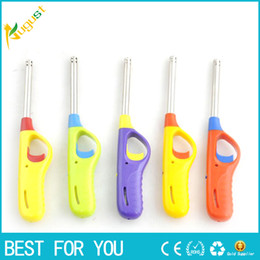 Wholesale Igniter Wholesale - Electronic Igniter Ignition Module mix color mini lighter useful tool for kitchen also offer torch jet gas USB lighter