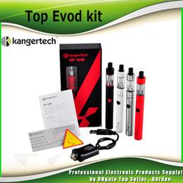 Argentina Auténtico kanger Topevod kit de inicio con kangertech genuino 1.7ml top evod toptank 650mah Evod batería vocc bobina vs subvod mega 2211058 Suministro
