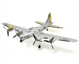 Wholesale Rtf Rc Airplanes - Topwing RC Airplane Mini B-17 w Auto Takeoff and Stability Control RTF and BNF