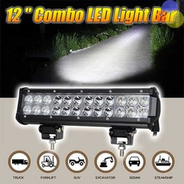 """Wholesale Cree 12 Inch 72w - 12"""" inch Car 72W LED Off Road LED Work Light Bar for Tractor Boat Off-Road UTV 4x4 Hummer Truck Combo Beam 12v 24v With CREE LED Chips"""