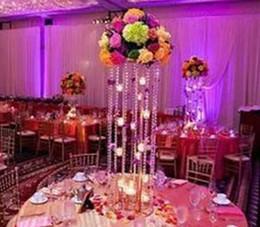 Gros mariage cristal votive Pas cher cristal fleur vase acrylique votive bougeoirs pour la vente en gros pour le mariage ? partir de fabricateur