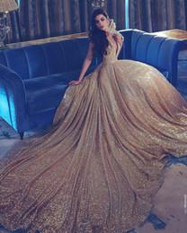 Robes de bal de style chinois en Ligne-2018 Nouveau Arabe Dos Nu Mermaid Robes De Soirée Berta Robes De Bal Chinois Style Paillettes Cherie Robes De Soirée Pas Cher 250