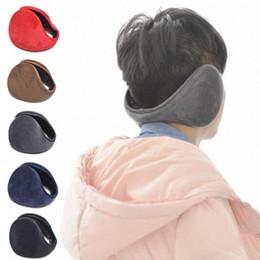 accessoires d'hiver de mode en gros Promotion Gros-Nouvelle Arrivée Unisexe Coloré Hiver Polaire Warmer Earmuff De Mode En Peluche Tissu Oreilles Pour Hommes Femmes Accessoires Y4