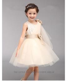 2019 ilusão, neckline, flor, menina New Style Child's 2 a 4 bebê meninas vestido de Cosplay Cinderela Vestidos de Casamento Do Bebê Meninas Princesa vestido de Festa Vestidos