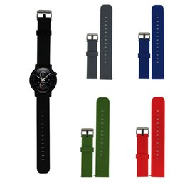 Wholesale Band Bracelet Rubber Wrist - Wholesale-20CM Silicone Wrist Watch Band Strap For Samsung Galaxy Gear S2 Classic SM-R732 Watchband High Quality