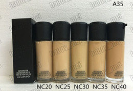 Wholesale makeup liquid face - Factory Direct DHL Free Shipping New Makeup Face A35 Matchmaster Foundation Liquid SPF15!35ml