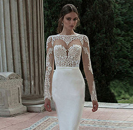 Wholesale Long Thin Prom Dresses - New Spring Backless Evening Prom Dress 2016 White Ms Host Party Dresses Long Cultivate One Morality Show Thin Tail Long Sleeve