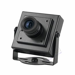 Wholesale Mini Pinhole Color Camera - CMOS Color Mini 700 TVL CCTV security Camera 3.6mm Pinhole Lens Mini cctv camera security camera