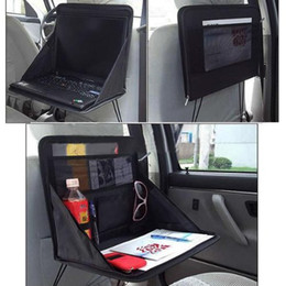 Wholesale Laptop Working Table - Car Stowing Tidying Travel Car Laptop Holder Tray Bag Mount Back Seat Auto Food Work Table Organizer