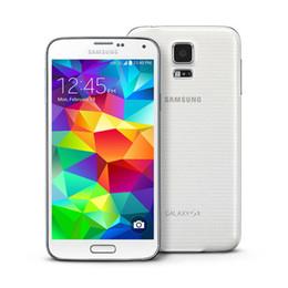 2019 grátis iphone 5c desbloqueado 2016 Samsung Galaxy S5 G900P SM-G900A Telefone Inteligente 2G RAM 16G ROM 5.1 Polegadas IPS 1080 P 16.0MP Câmera ATT T-Mobile GSM Desbloqueado