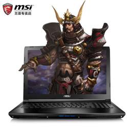 Générations d'ordinateurs en Ligne-MSI / MSI GL72 6 xcn17 qf - 404. 3 pouces six générations i7 GTX960M montrant cet ordinateur pour acheter le jeu pour envoyer un seul sac