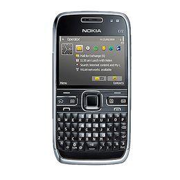 Wholesale Mobile Phone Warranties - Refurbished E72 Original Nokia E72 Mobile Phone 3G Wifi GPS 5MP Black Unlocked E Series Smartphone & One year warranty