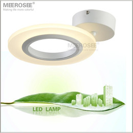 Wholesale Lamp Applications - Small Fashion Acrylic LED Ceiing Light LED Surface Mounted Ceiling Lamp Reading Bedroom Application Light Fitting Free Shipping
