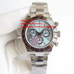 Wholesale New Mechanical - 5 Color Best Edition Watch JF Factory Luxury 40mm Cosmograph 116506 116520 116509 116500 Swiss ETA 7750 Movement Chronograph Mens Watches