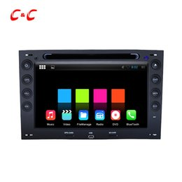 Wholesale Car Dvd For Renault Megane - 1024X600 Quad Core Android 5.1.1 Car DVD Player for Renault Megane with Radio GPS Navi Wifi DVR Mirror Link BT +Free Gifts
