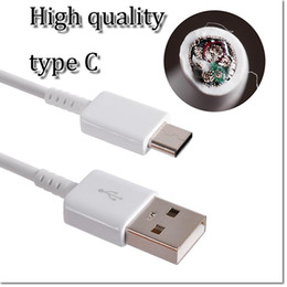 Wholesale Protection Data - brand new type C data cable with IC protection and weaving protection wire and Al-Mylar for note 7 le TV cheap one also in stock