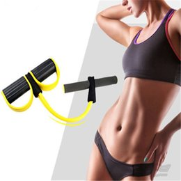 Wholesale Pedal Tool - GYM Fitness Yoga Foot Pedal Pull Rope Tube Equipment Tool Gym Resistance Bands