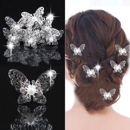 Wholesale Disc Headdress - Korean bride wedding hair accessories headdress hairpin hair flower shape new disc married Bob hair fork wholesale