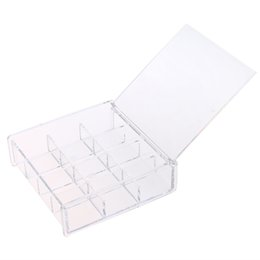 Прозрачный акриловый косметический организатор ящик для макияжа ящик для хранения ногтей коробка для хранения ювелирных изделий оптовая цена от