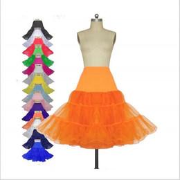 Wholesale Tutu Dresses For Cheap - Short Skirt Petticoats For Bridal Wedding Dresses Black White Red Yellow None-Hoop Crinoline Petticoat Summer Tutu Dresses 2016 New Cheap
