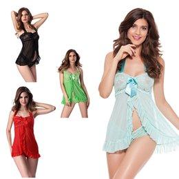 Wholesale Lingerie Teddy Sale - New Hot Women Sexy Lingerie Plus Size Babydoll Women Sleepwear Fancy Lingerie Top Sale Teddy Lingerie Open Front Exotic Pajamas