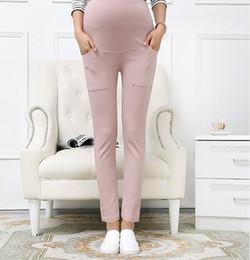 Wholesale Pants For Pregnant Women - Maternity Pants&Capris Skinny pregnancy Pants Maternity trousers For Pregnant Women Pregnancy pregnant trousers 5 P L