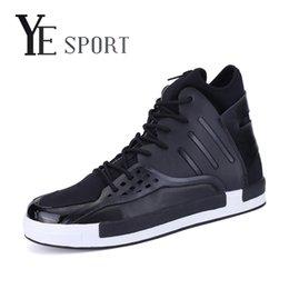 Wholesale Scarpe Sport - Wholesale-YE Sport High Top Sneakers Men Skateboard Shoes Breathable Shoes Sport Mens Trainers Skateboarding Shoes Scarpe Uomo Sportive