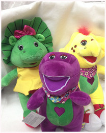 Wholesale Plush Barney Friends - 3 Style Barney & Friend Baby Bop BJ 7.5inch 19cm Plush Doll Stuffed Toy For Baby Gifts New