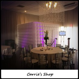 Wholesale Photo Booth Tent - Wholesale-DHL shipping best oxford inflatable lighting photo booth