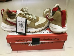 Wholesale Elastic For Beading - Tom Sachs x Craft Mars Yard 2.0 TS NASA Running Shoes For Men Natural Red Crafts Sports Sneakers Designer Shoes Zapatillas Vintage36-45