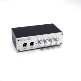 Mikrofoneffekte online-Freeshiping JRC5532 Mikrofon Mixer Karaoke-System Reverb-Effekte Fernseher Set-Top Box pc K Lied Mikrofon Mike Verstärker Vorverstärker