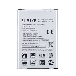 Wholesale G4 Batteries - Promotion For BL-51YF High Quality Cell Phone Battery For G4 Battery H818 H819 VS999 F500 F500S F500K F500L H81 BL 51YF With Retail Packege