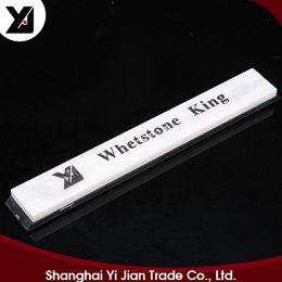 Wholesale Garden Shears Scissors - Yijian Hot Sale White Gem Oil Stone 6000 Grit Whetstone For Garden Shear Scissors Sword Axe Size 150mm*20mm*5mm h4