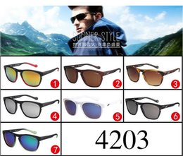 Wholesale Titanium Sunglasses Wholesale - ARNETTE 4203 Brand Designer Sunglasses The Leg Can Removed Sport Cycling Sunglasses UV 400 Ourdoor Eyewear Shades for Golf Wear