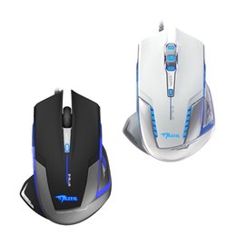 Wholesale Lol Usb - E-3LUE Gaming Mouse Mice EMS600 2500DPI Adjustable Flexible USB Wired Optical Game Mice Computer Mouse For Desktop PC Laptop LOL