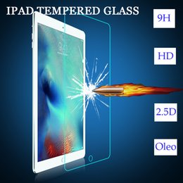 Wholesale Tempered Glass Factory - Tempered glass Screen protector Ipad apple For ipad mini 2 3 4 air 0.4MM 2D factory direct selling price Lightning delivery
