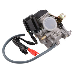 Wholesale Scooter Carbs - 18MM 49cc 50cc 60cc Scooter Carburetor Moped Carb for 4-Stroke GY6 SUNL ROKETA JCL Qingqi Vento