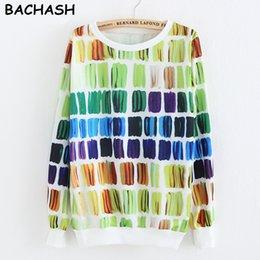 Wholesale Vintage Tracksuits Women - Wholesale- BACHASH 2017 Couple Tracksuits Loose Vintage O-Neck Pullover Fleece Casual Thermal Brand Women Hoodies Fashion Black Sweatshirt