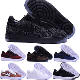 Wholesale Floor Cut - 2017 air One 1 Dunk Men Women Flyline Running Shoes,Sports Skateboarding Ones Shoes High Low Cut White Outdoor Trainers Sneakers