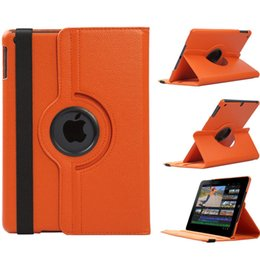 360 Rotating Flip Magnetic Smart Seep Wake up Cover PU Funda de cuero para el nuevo iPad 2017 9.7 Pro 10.5 Air 2 3 4 5 6 Air2 Mini desde fabricantes