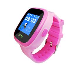 Monitores cool on-line-Relógio Rastreador GPS Com Cinta Luminosa Fresca SOS Chamada Localizador Localizador Rastreador Anti Perdido Monitor de Criança Inteligente Seguro Natação Assista