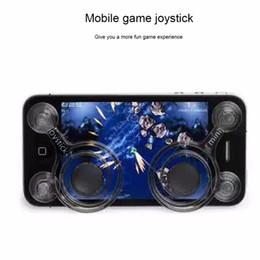 Jogos de arcade de tela sensível ao toque on-line-Joystick de tela de toque do telefone móvel do smartphone joysticks mini joysticks móveis para telefone tablet jogos de arcade